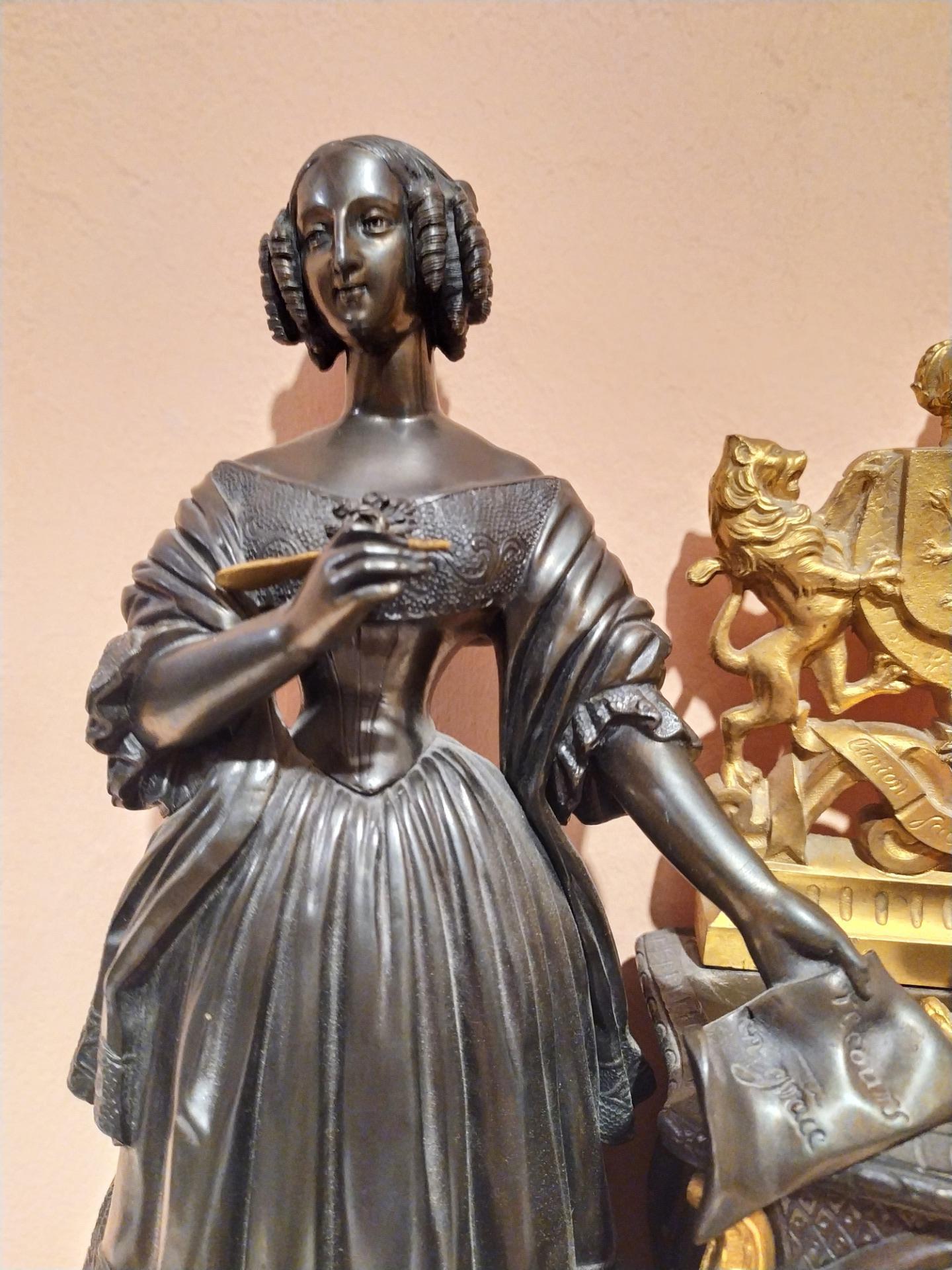 thumb6|Orologio in bronzo epoca Napoleone III