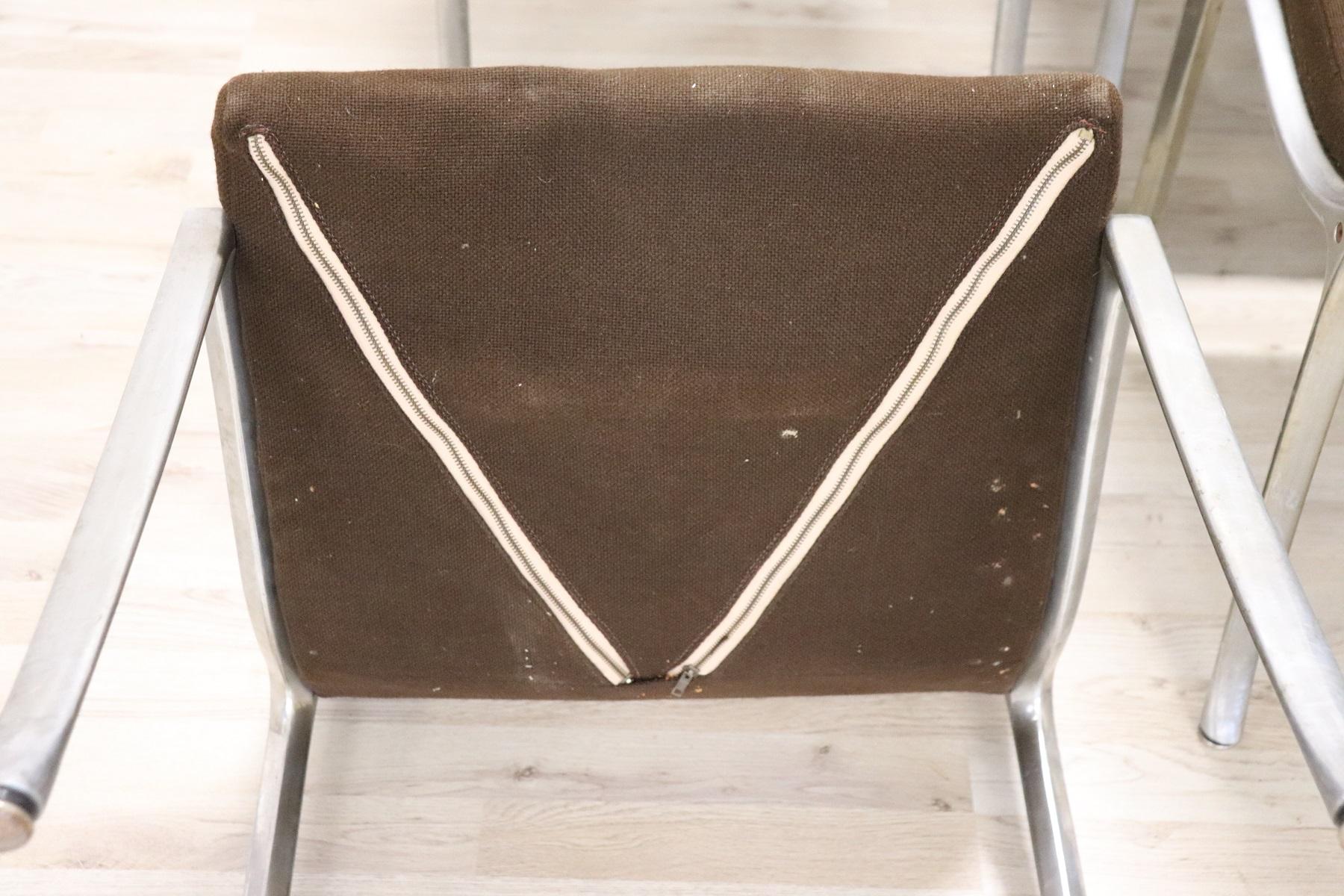 thumb8|Set di sei sedie design stile Osvaldo Borsani, 1970 prezzo trattabile
