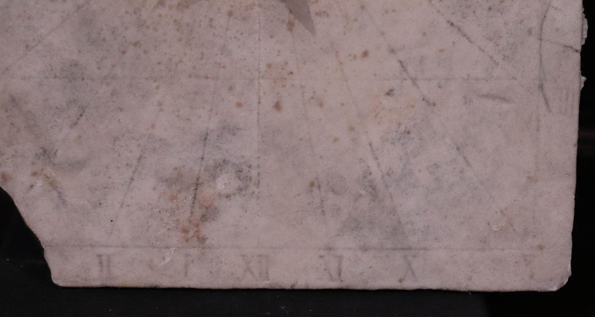 thumb5|Meridiana in marmo, Toscana, Sec. XVII