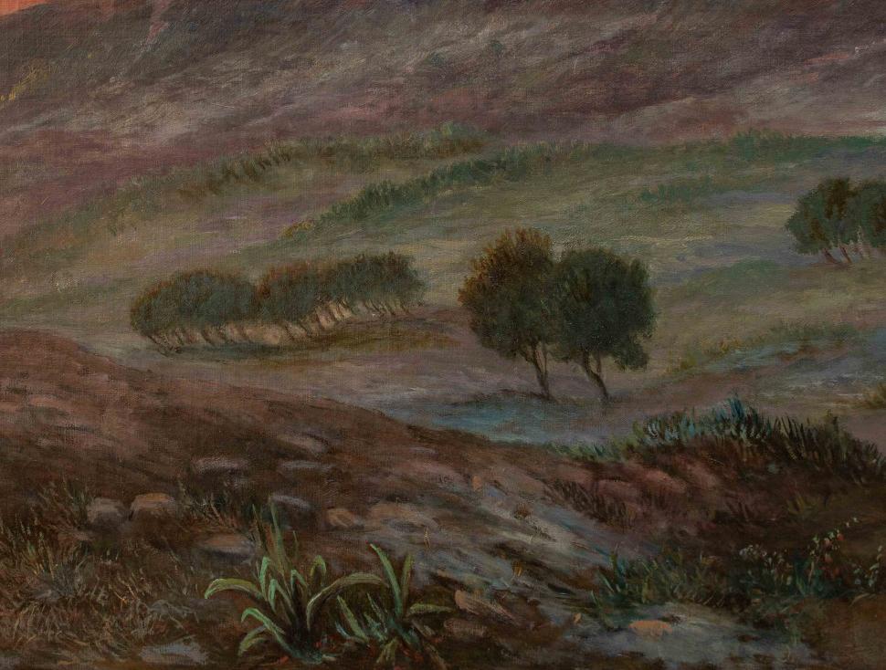 thumb9 Paesaggio al tramonto, XIX secolo