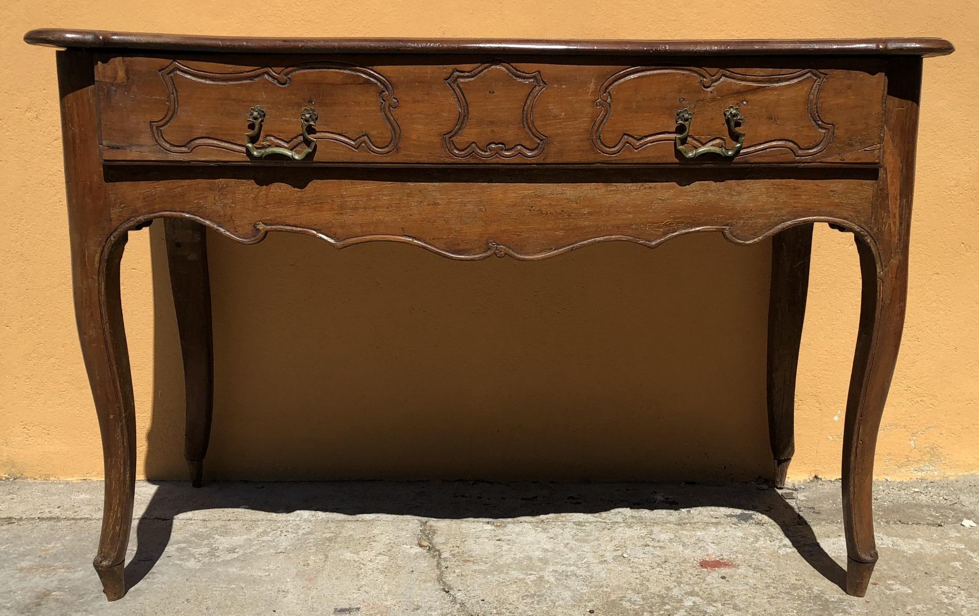 consolle in legno di noce del 1700 Reggio Emilia   Antiquariato su ...