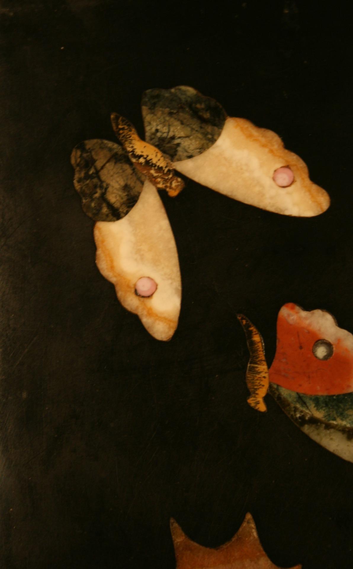 thumb6 Piccolo e prezioso commesso in pietre dure policrome e semipreziose