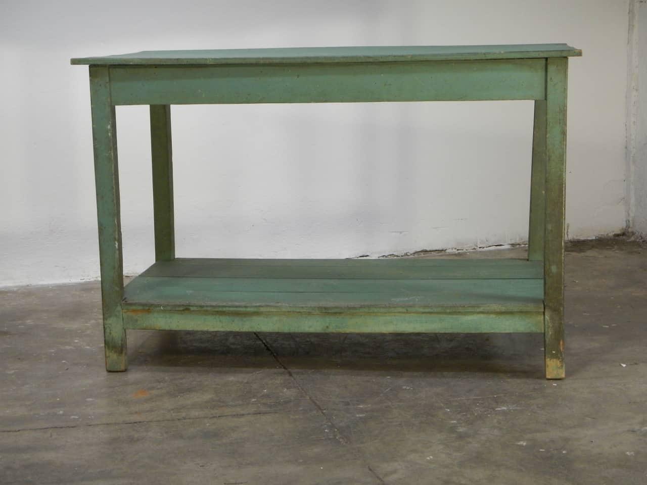 thumb5|bancone in  legno  di abete con due piani anni 50