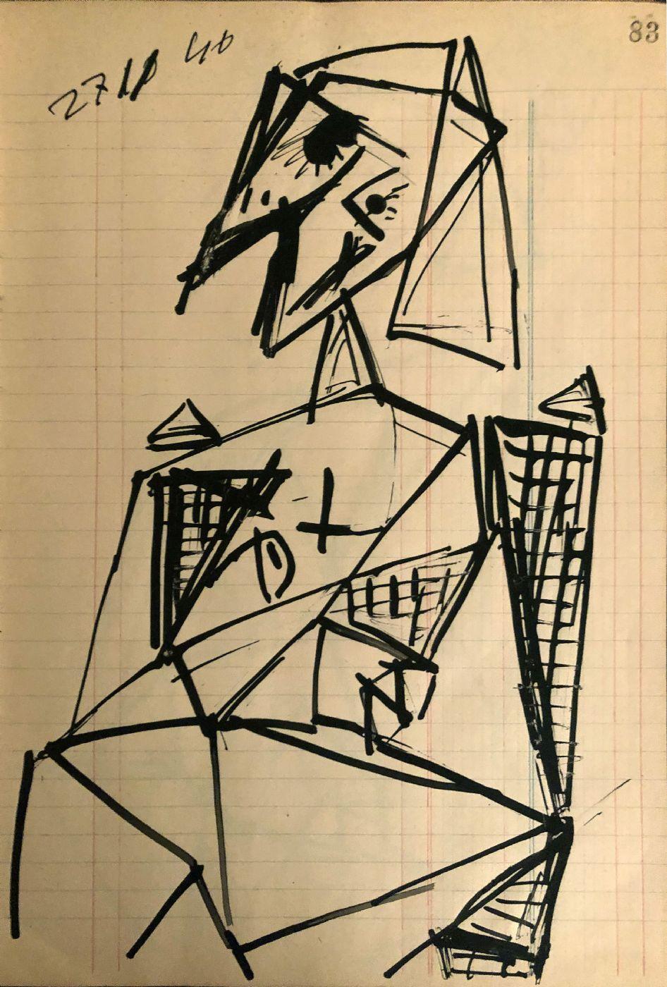 Studio di figura, 27 novembre 1946