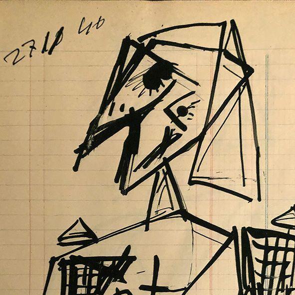 thumb10|Studio di figura, 27 novembre 1946