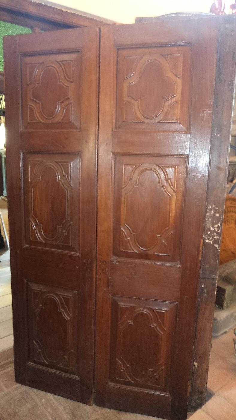 Foto Di Porte Antiche porte antiche n. 4 coppie | antiquariato su anticoantico