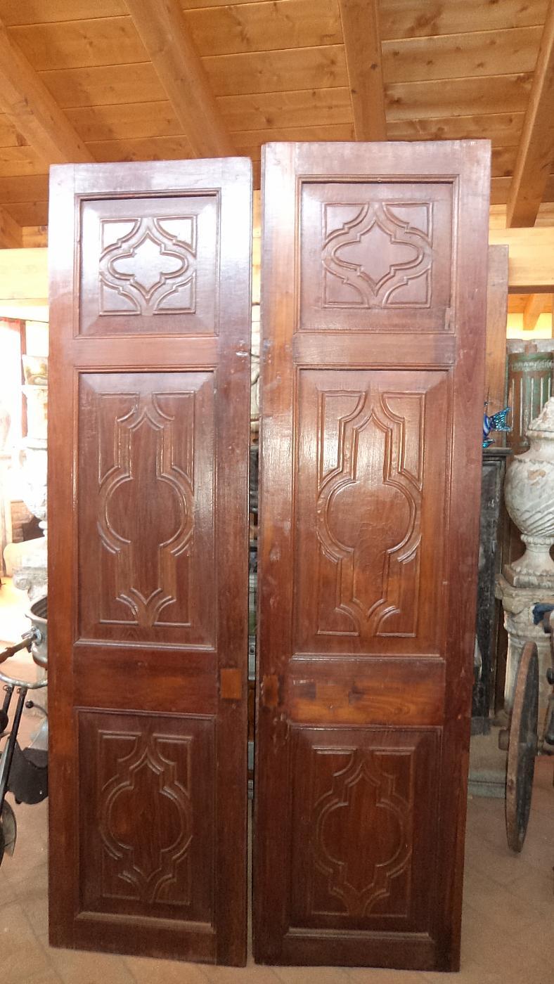 porte antiche n. 4 coppie | Antiquariato su Anticoantico