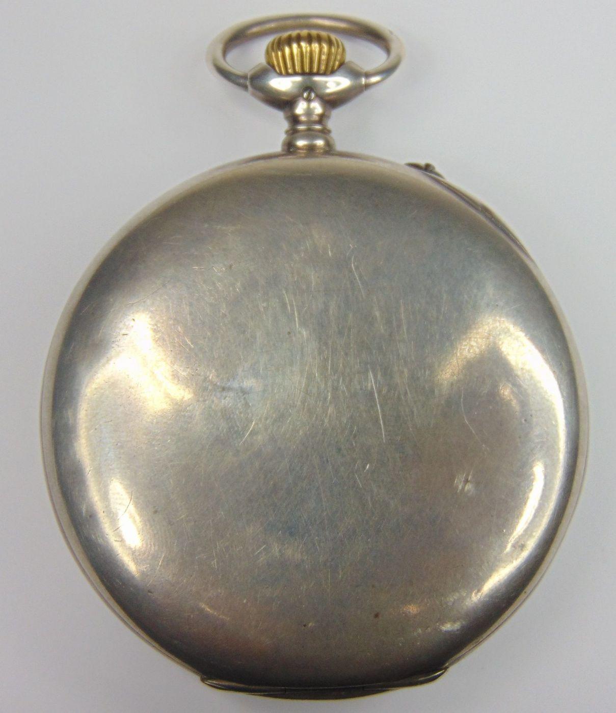 thumb2|Orologio da tasca in argento International Watch Co. fine '800
