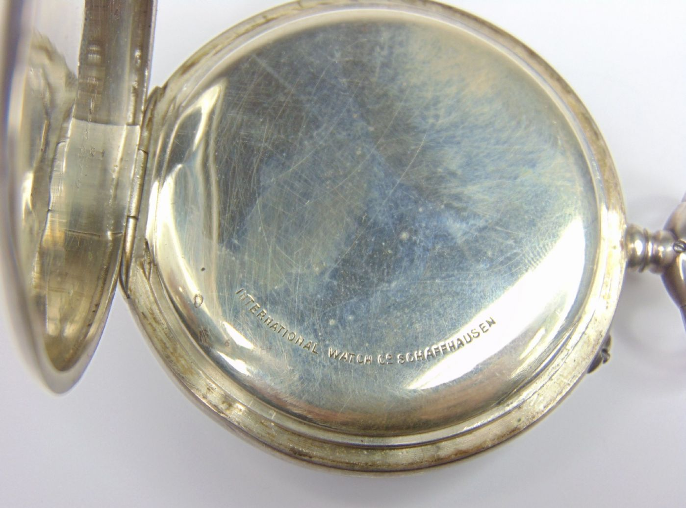 thumb4|Orologio da tasca in argento International Watch Co. fine '800