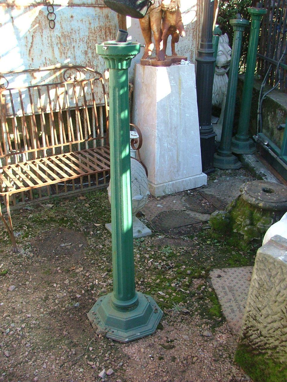 N piccolo in ghisa piu 39 fontanella primi 900 for Colonne da giardino