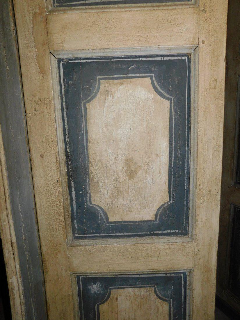 thumb2|ptl430 n.2 porte laccate con telaio, h 230 cm x l 135 cm x p 6 cm