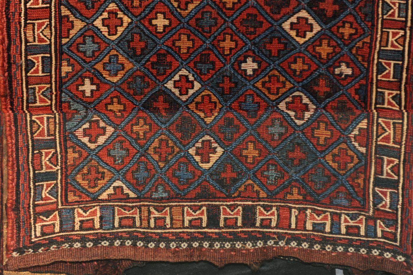 thumb3|Persian Saddlebag, antique ca. 36 x 30 cm