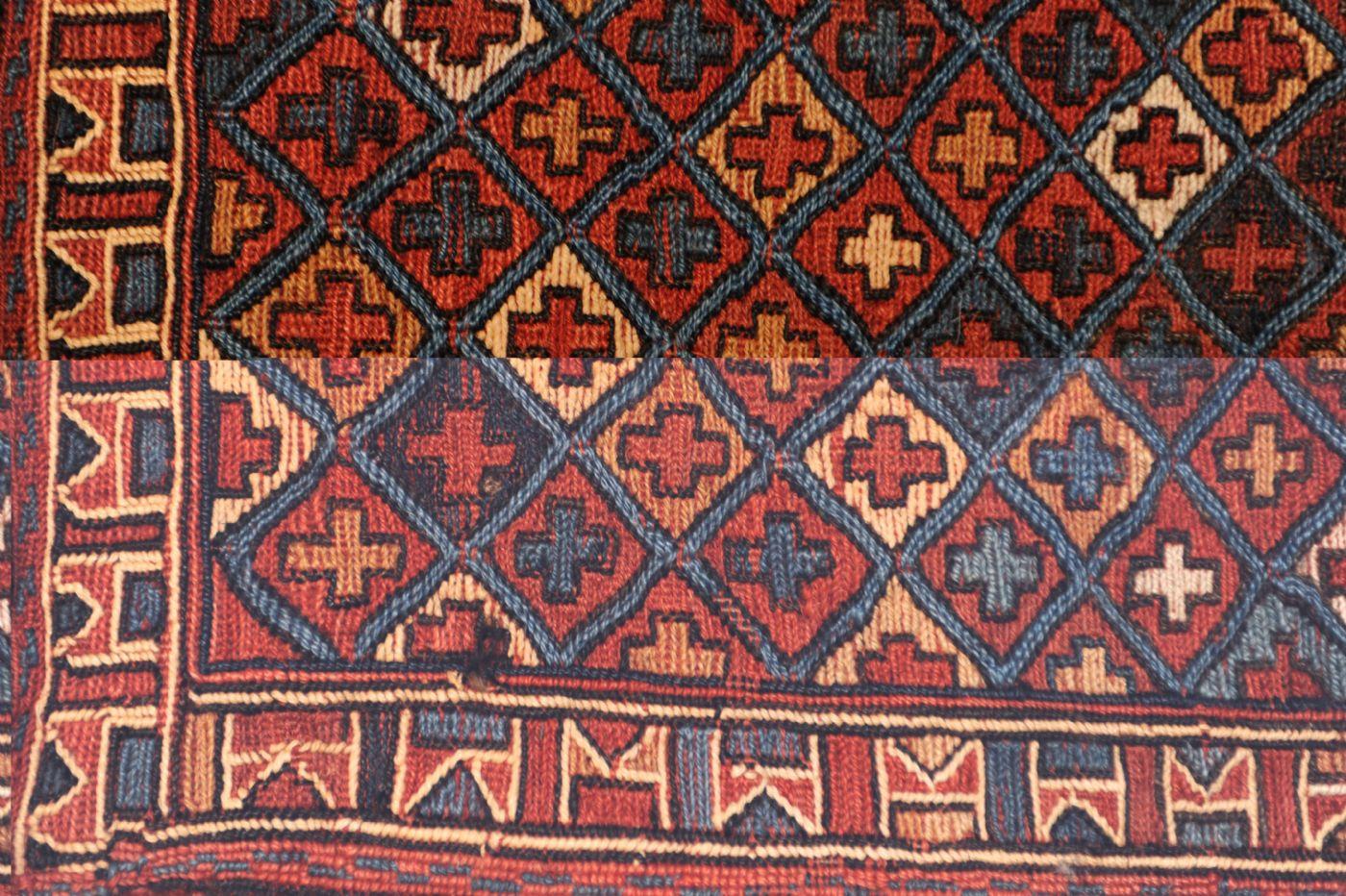 thumb4|Persian Saddlebag, antique ca. 36 x 30 cm