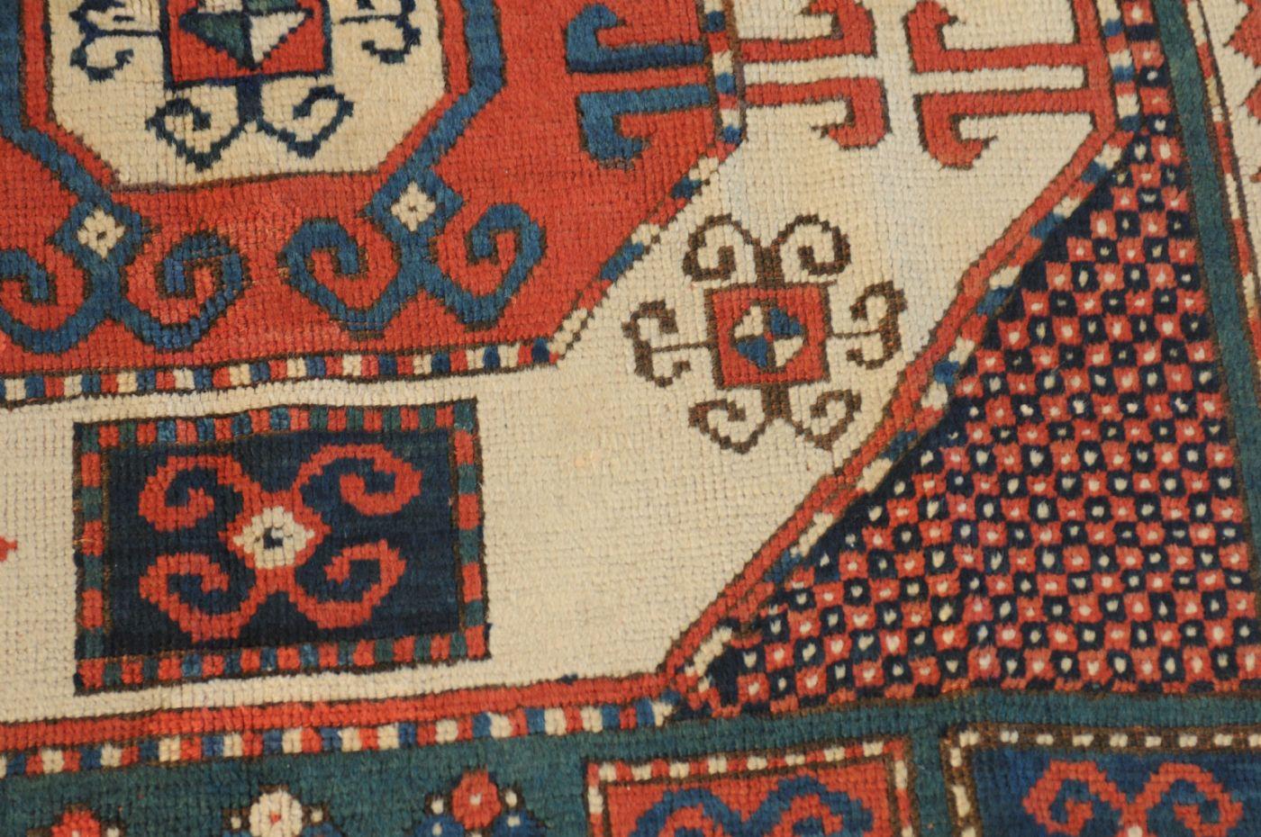 thumb3|Kazakh Karachoph – 19th century – antique piece – approx. 211 x 137 cm