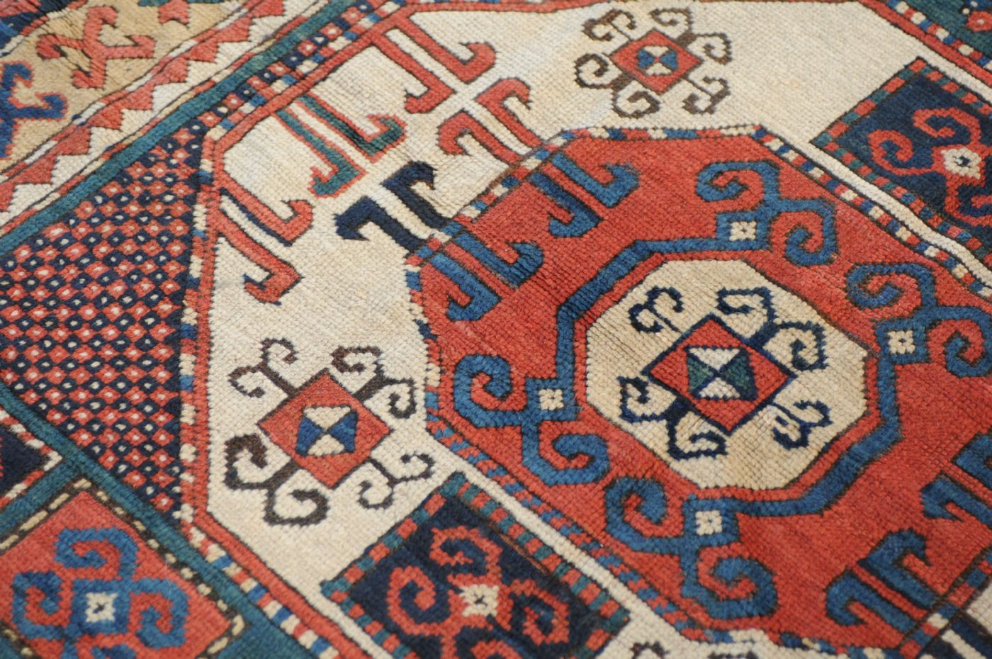 thumb4|Kazakh Karachoph – 19th century – antique piece – approx. 211 x 137 cm