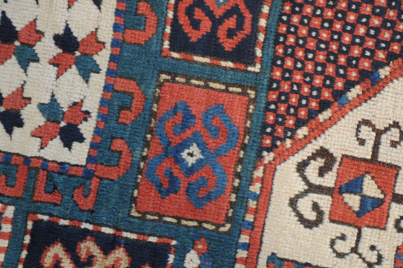 thumb6|Kazakh Karachoph – 19th century – antique piece – approx. 211 x 137 cm