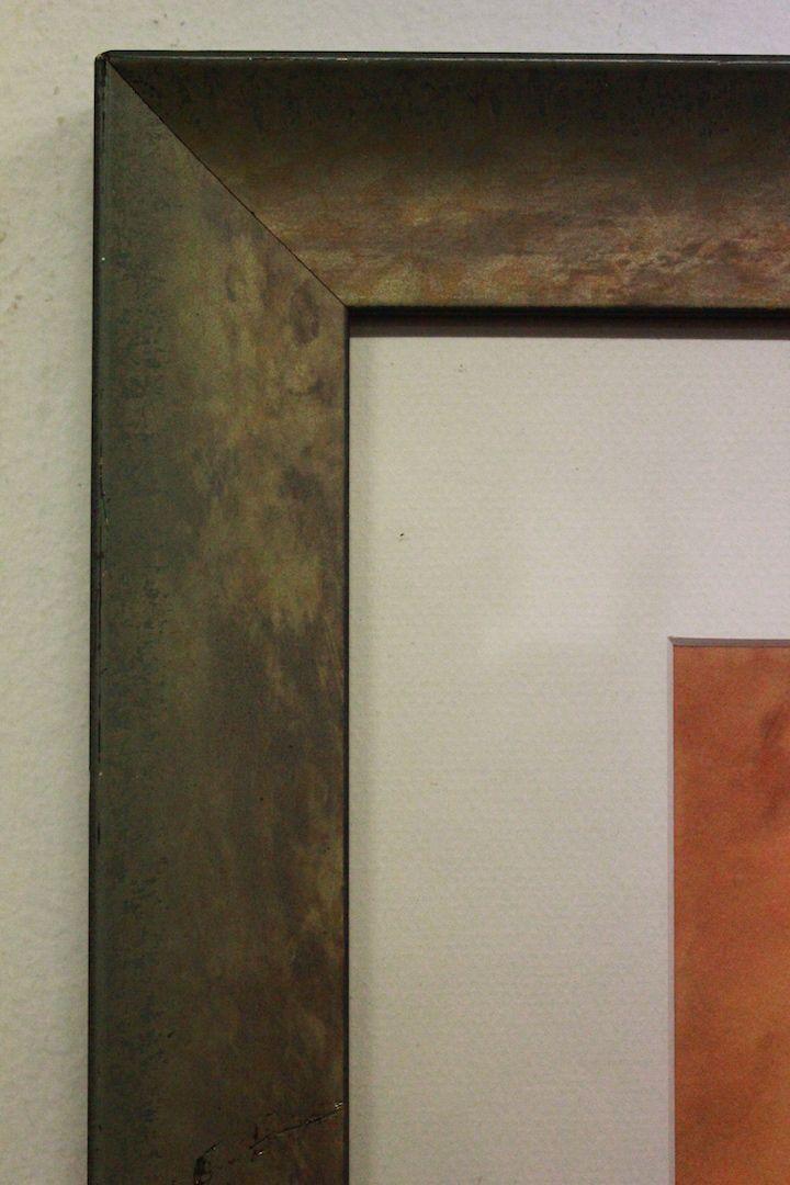 thumb5|Bella stampa con cornice e vetro firmata raffigurante soggetto femminile print