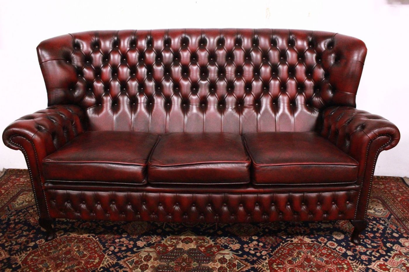 reclining leather sofa superb chesterfield sofa chester original leather 10445