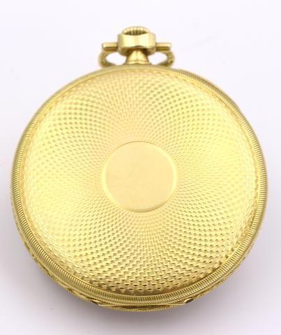 thumb2|Orologio da tasca Ulysse Nardin in oro 18k 1940 circa