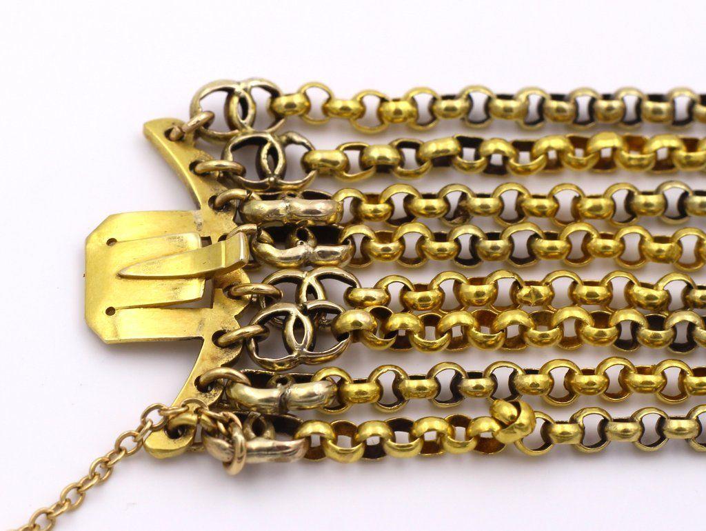 thumb5 Bracciale in oro 18k con cammeo centrale