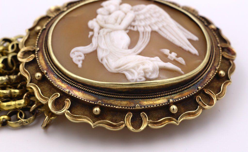 thumb6 Bracciale in oro 18k con cammeo centrale