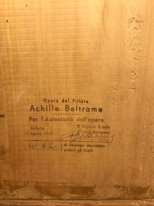 thumb2|Achille Beltrame, Arzignano VI  1871 - Milano 1945