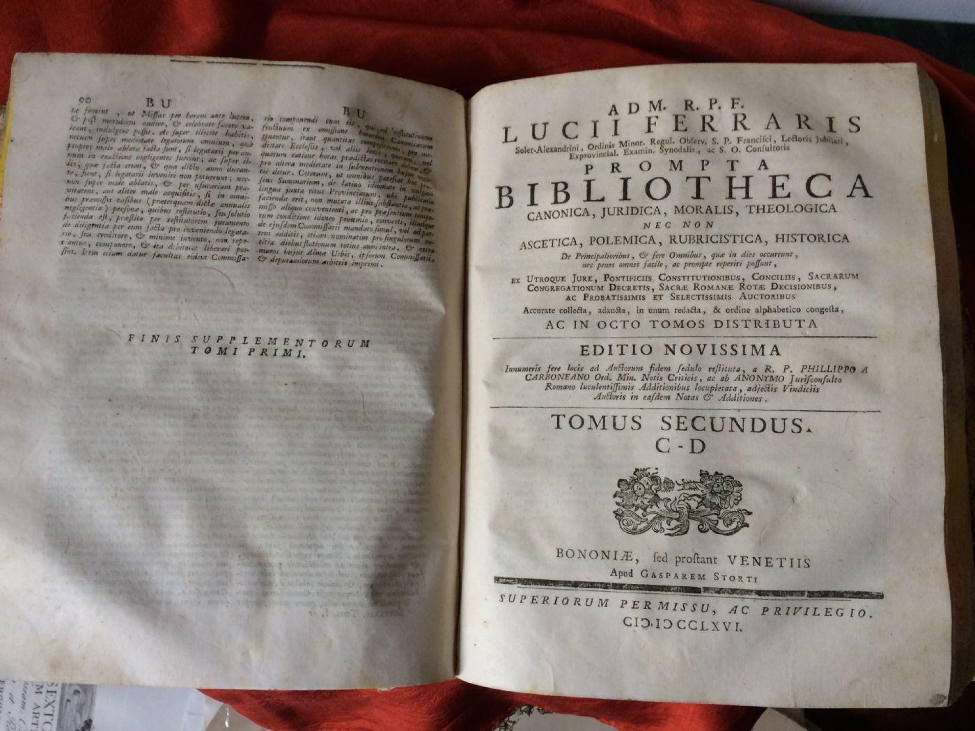 thumb5|Lucii Ferraris, Prompta Bibliotheca
