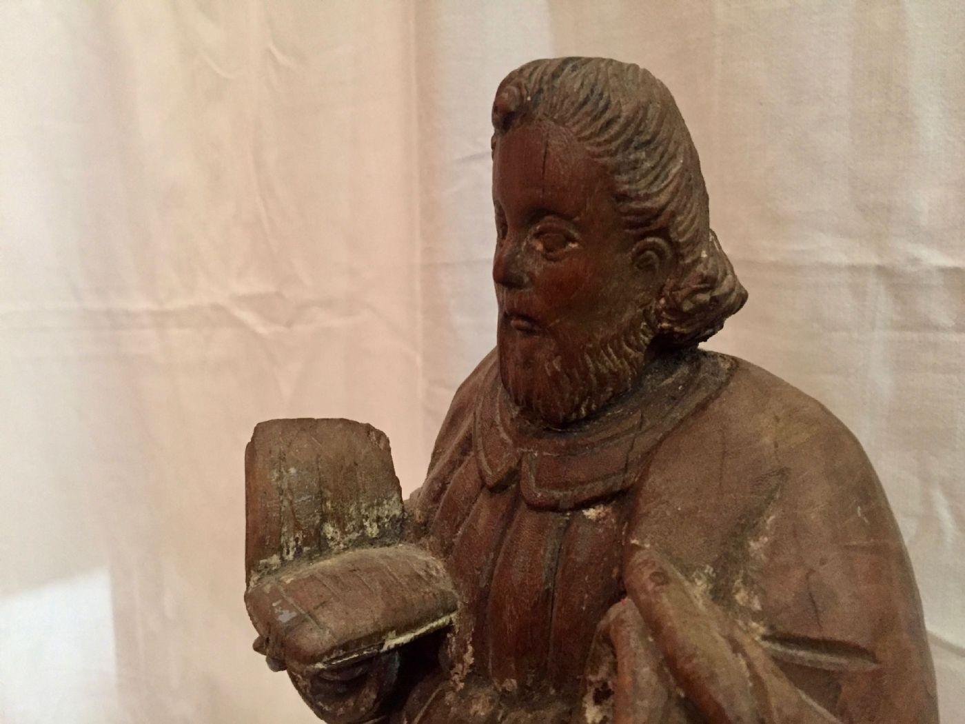 thumb4 Evangelista San Marco, legno, XIX° secolo