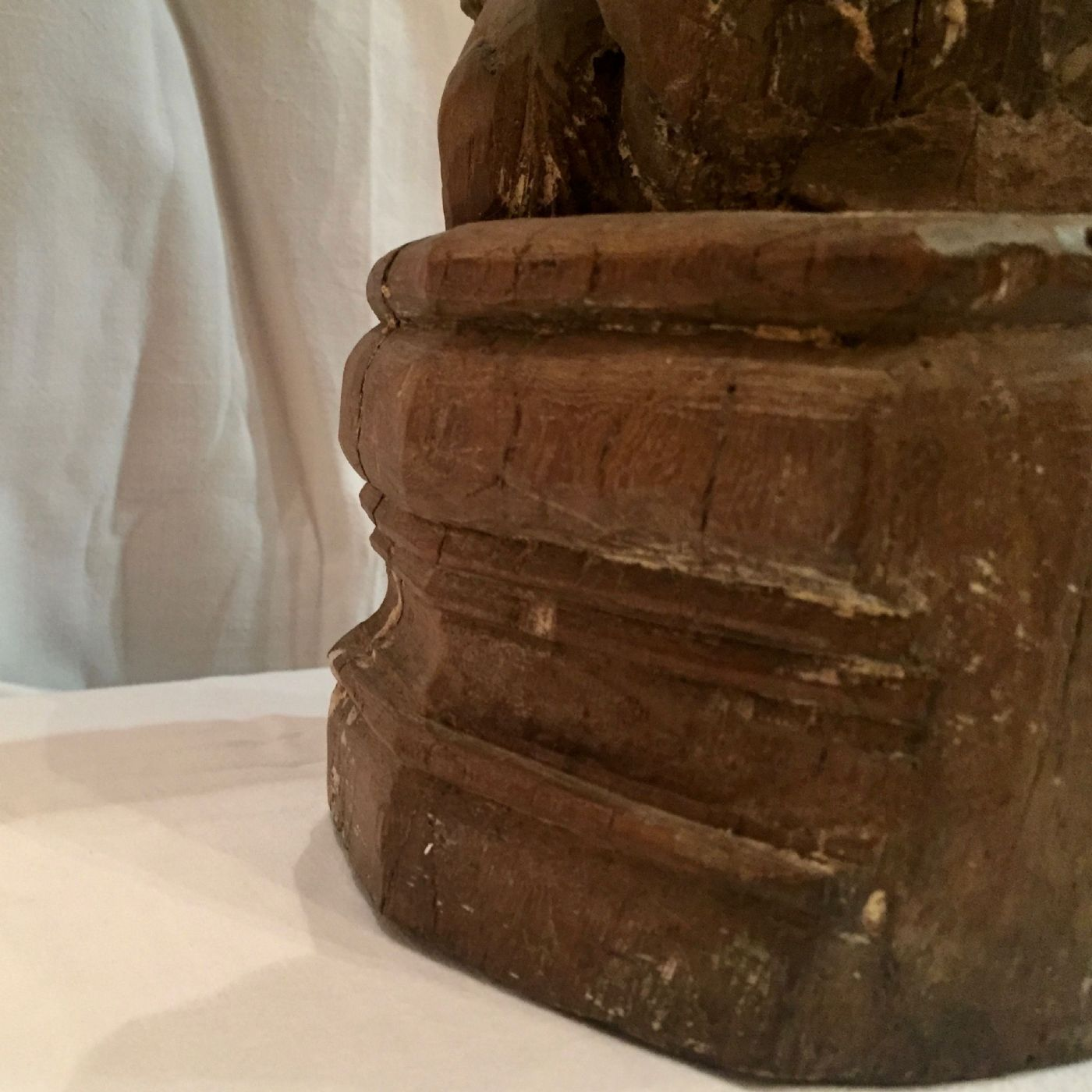 thumb8|Evangelista San Marco, legno, XIX° secolo