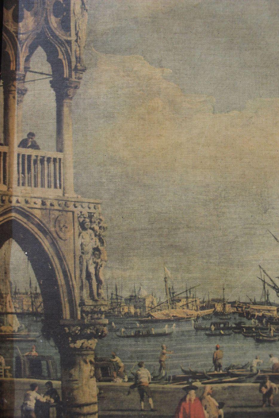thumb5|Stampa raffigurante veduta di Venezia