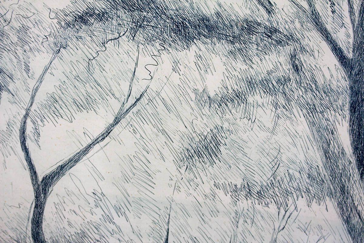 thumb3|UMBERTO LILLONI - LITOGRAFIA ORIGINALE