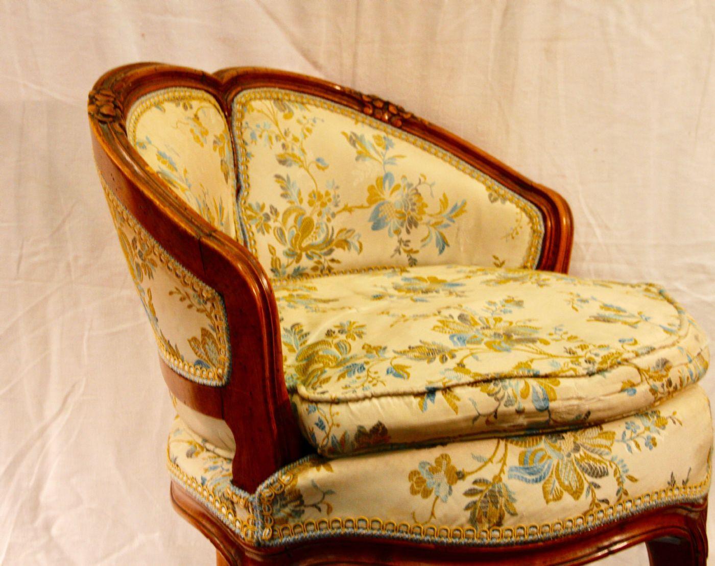 Piccola sedia da ufficio / toletta, Napoleon III ...