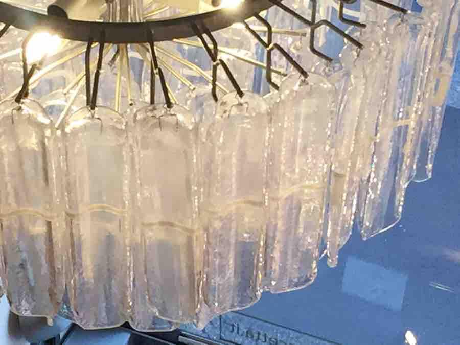 Lampadario Murano Anni 70.Lampadari Vetro Di Murano Anni 70 Vistosi Per Mazzega
