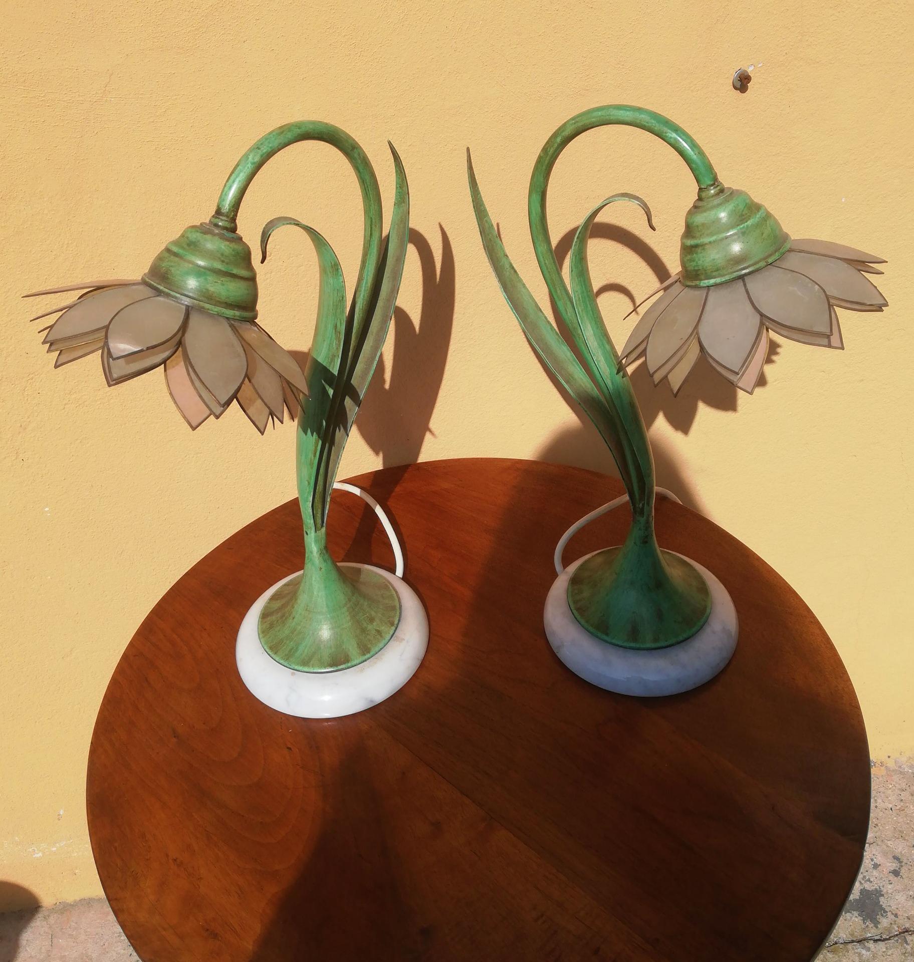 thumb8 coppia di lampade vintage