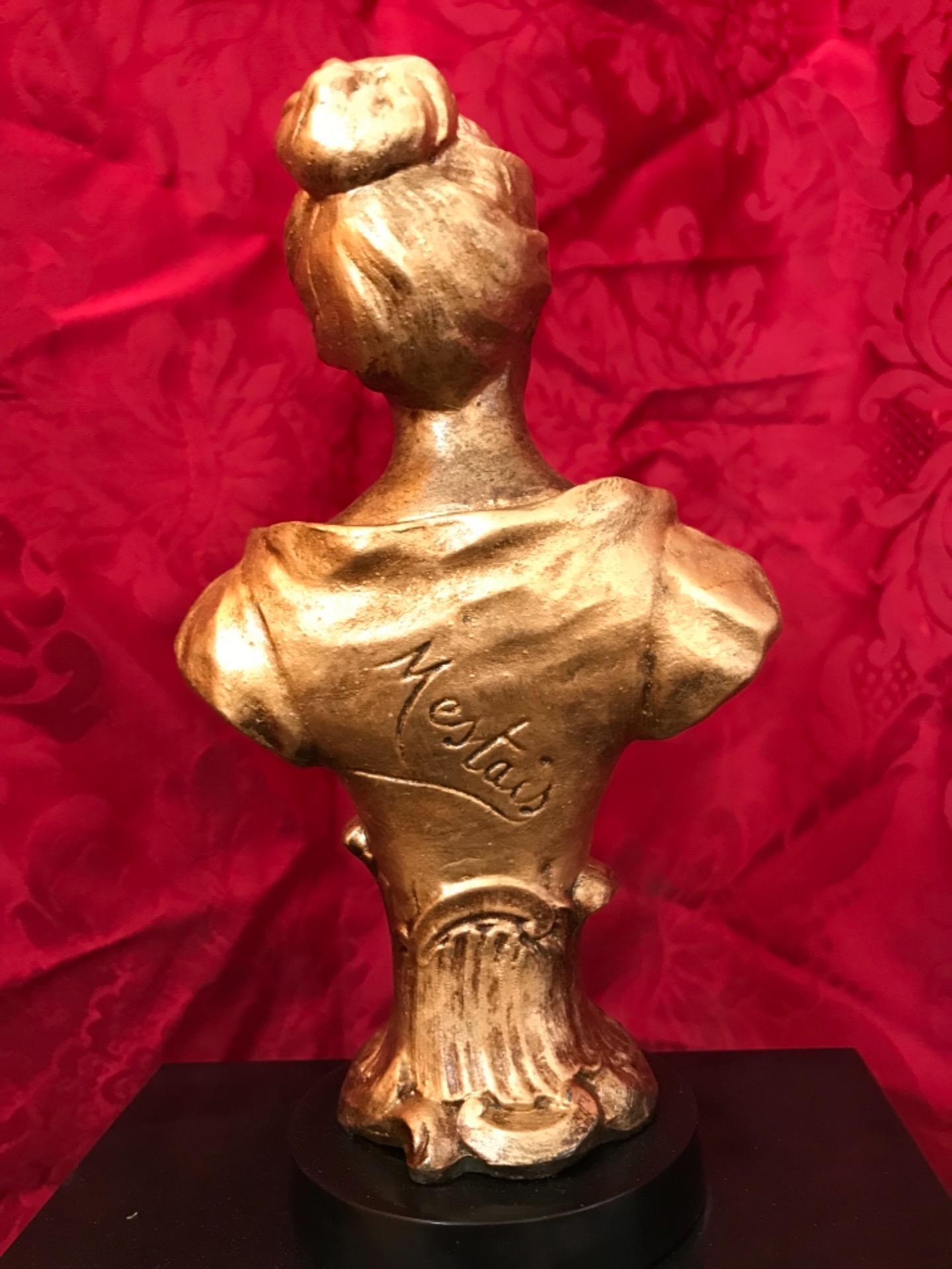 thumb6|Orologio a pendolo con scultura firmata Mestais