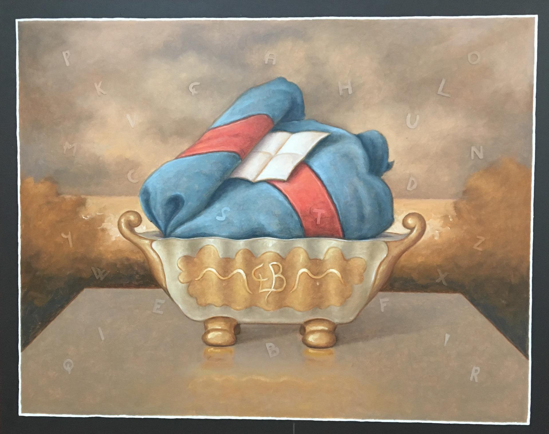 thumb4|G.L.BELLORINI COPERTA AZZURRA