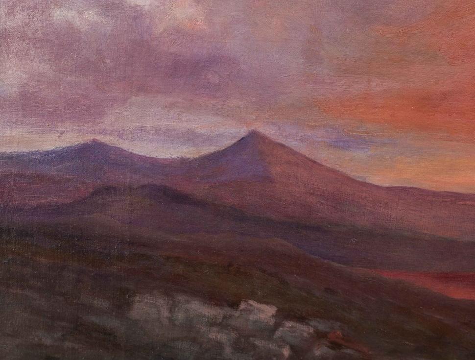 thumb7 Paesaggio al tramonto, XIX secolo