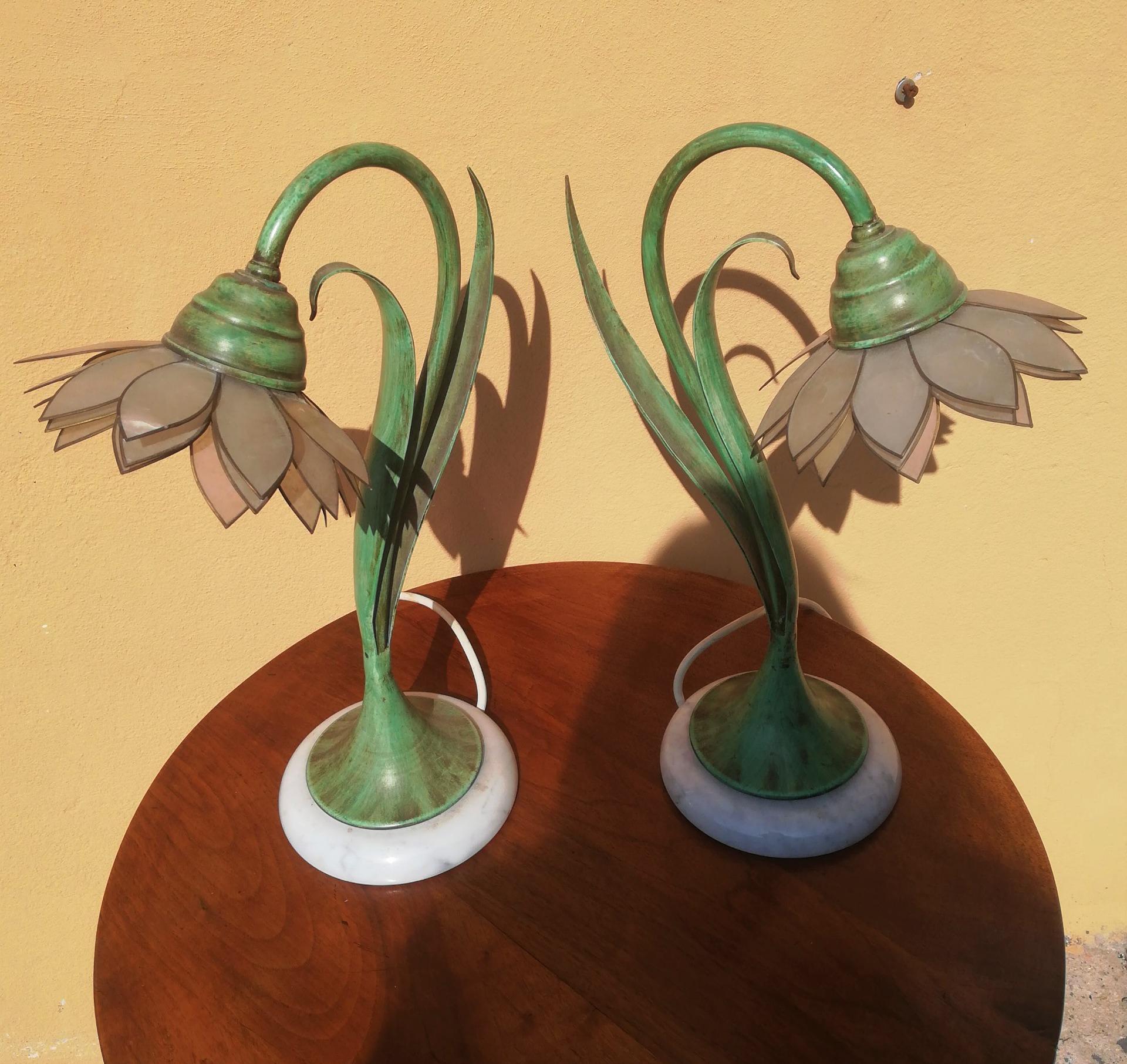 thumb7 coppia di lampade vintage