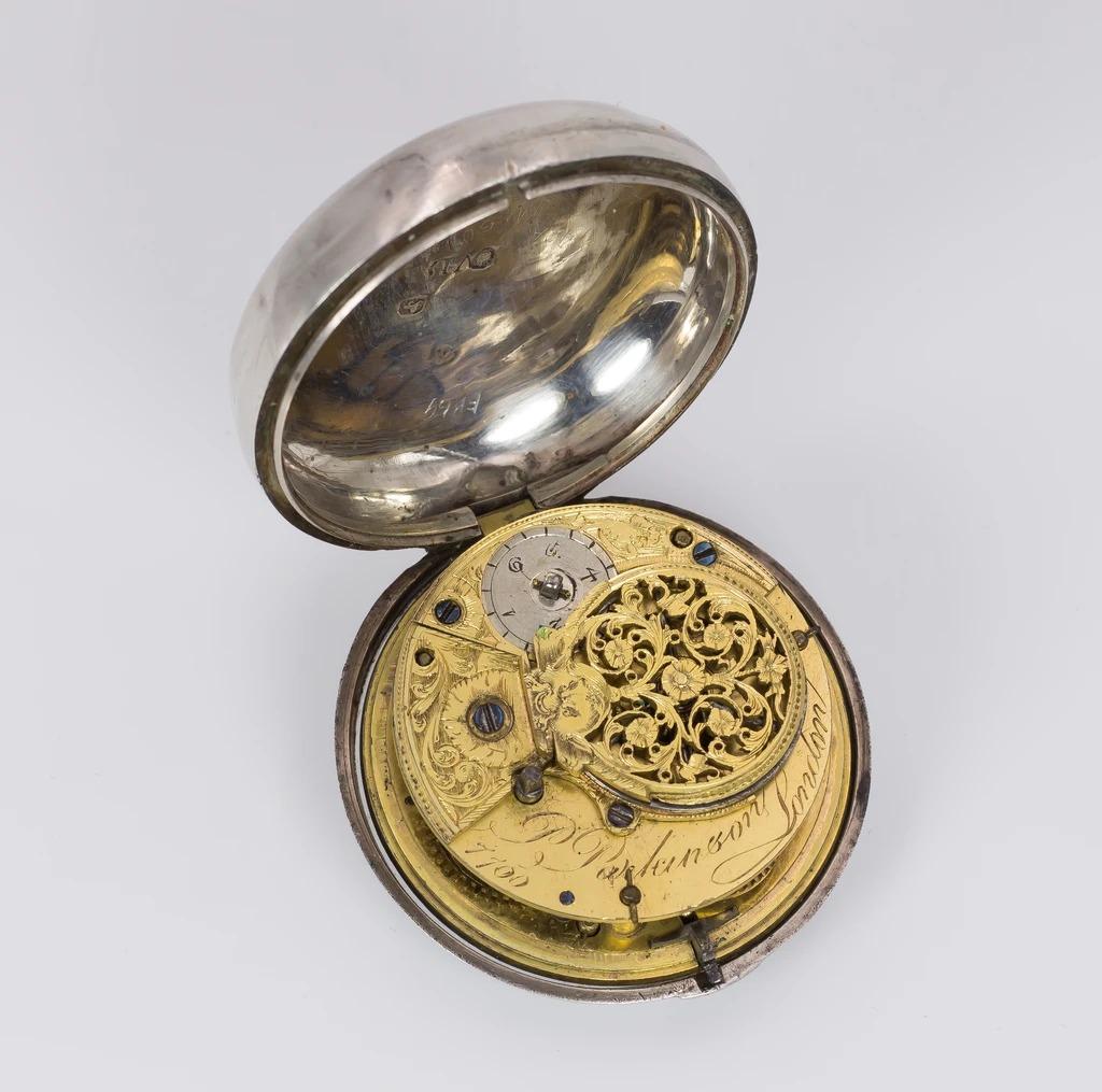 thumb4 Orologio da tasca antico in argento , Londra 1797