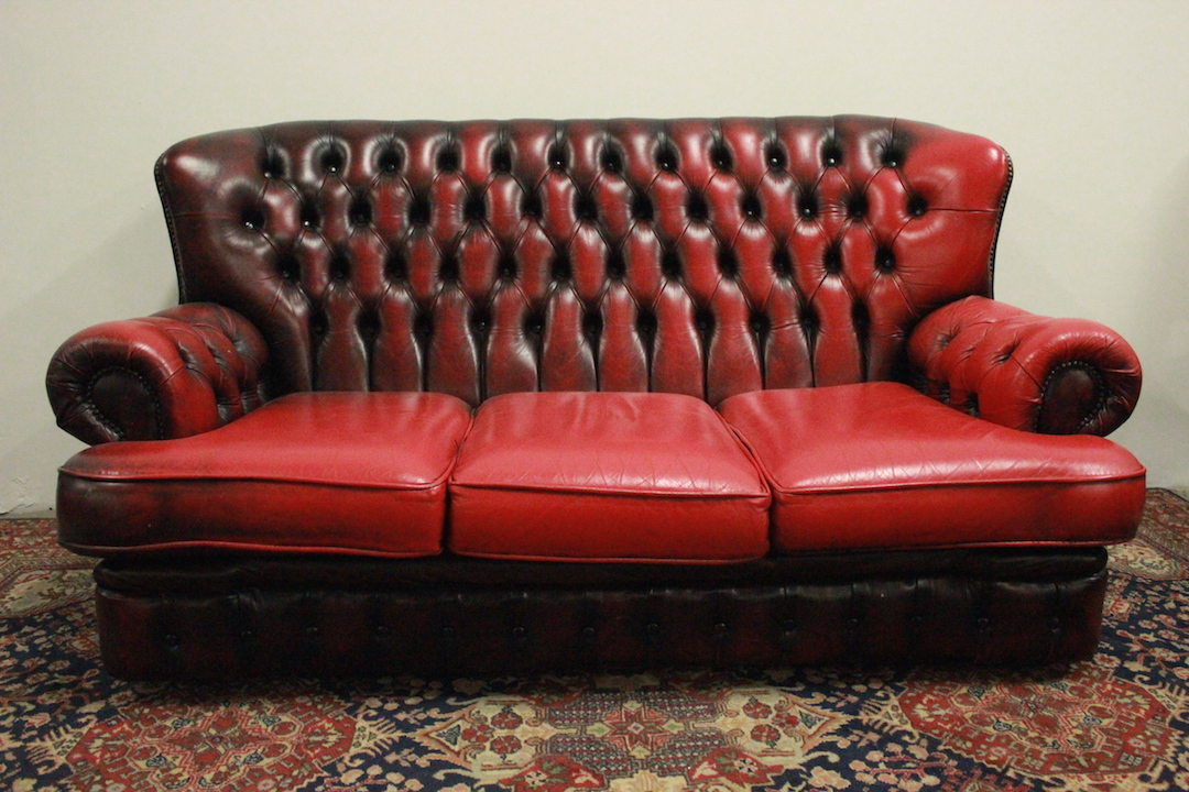 Divano Pelle Modello Chester.Chesterfield Chester Sofa 3 Seats English Burgundy Leather
