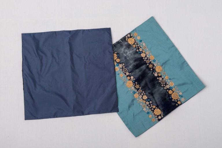 thumb2|Coppia di ricami in canuttiglia su velluto e seta - B/1828