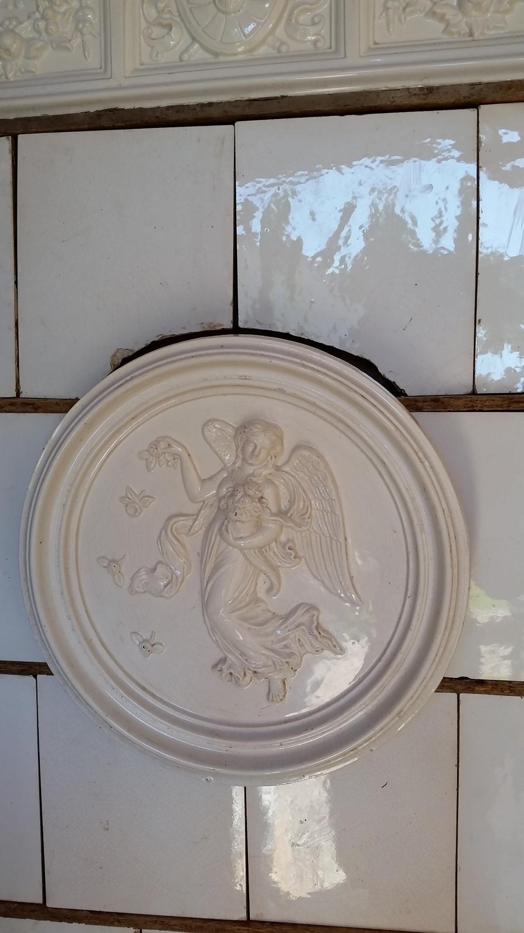 thumb2|Stufa antica bianca angolo, secolo 19, Hardmuth