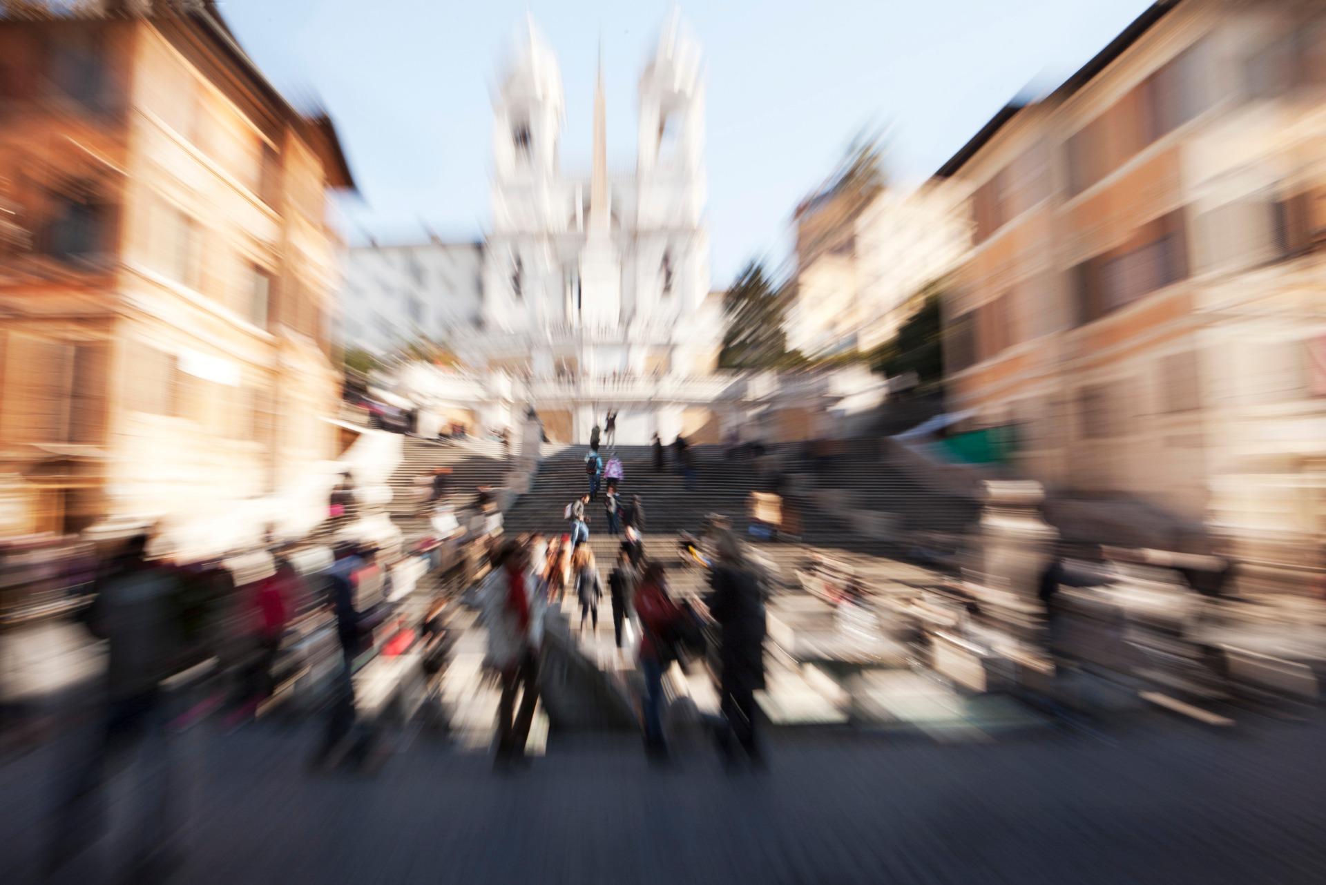 """Collezione Fotografica: """"Blurred Rome"""" 60x90cm cad. - Autrice: Sofia Venturini Del Greco"""
