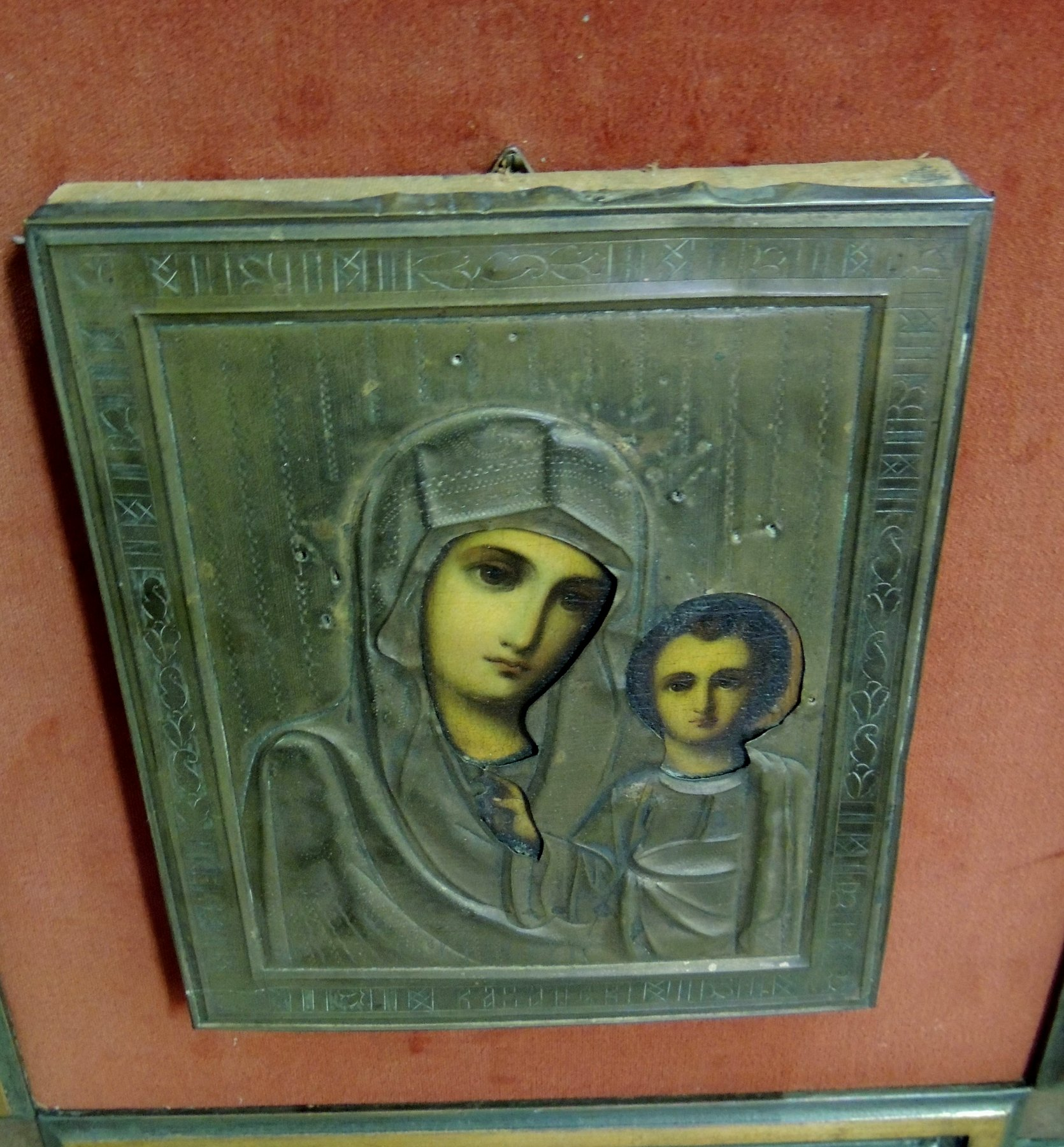 thumb5|icona con madonna cm 18 x 22,5