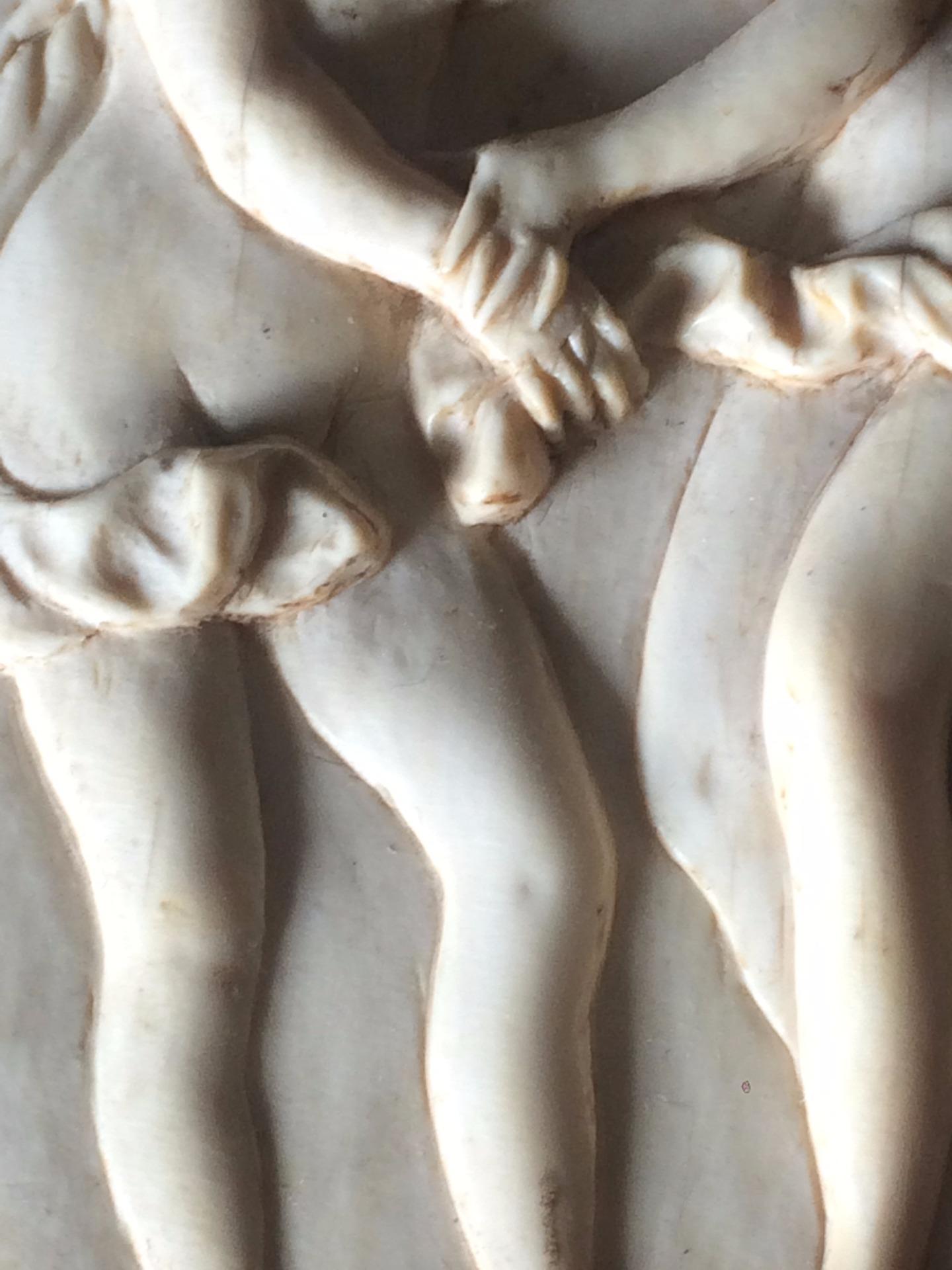 thumb4| Piccolo bassorilievo in avorio neoclassico