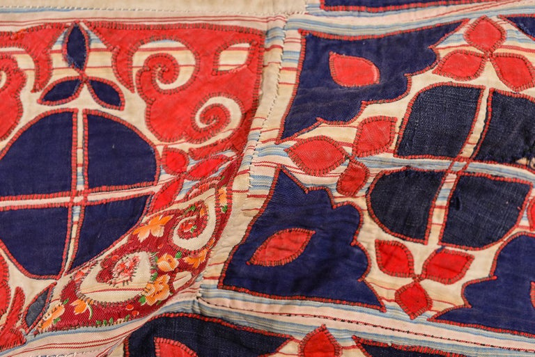 thumb3 Patchwork di antichi tessuti ricamati Turkomanni