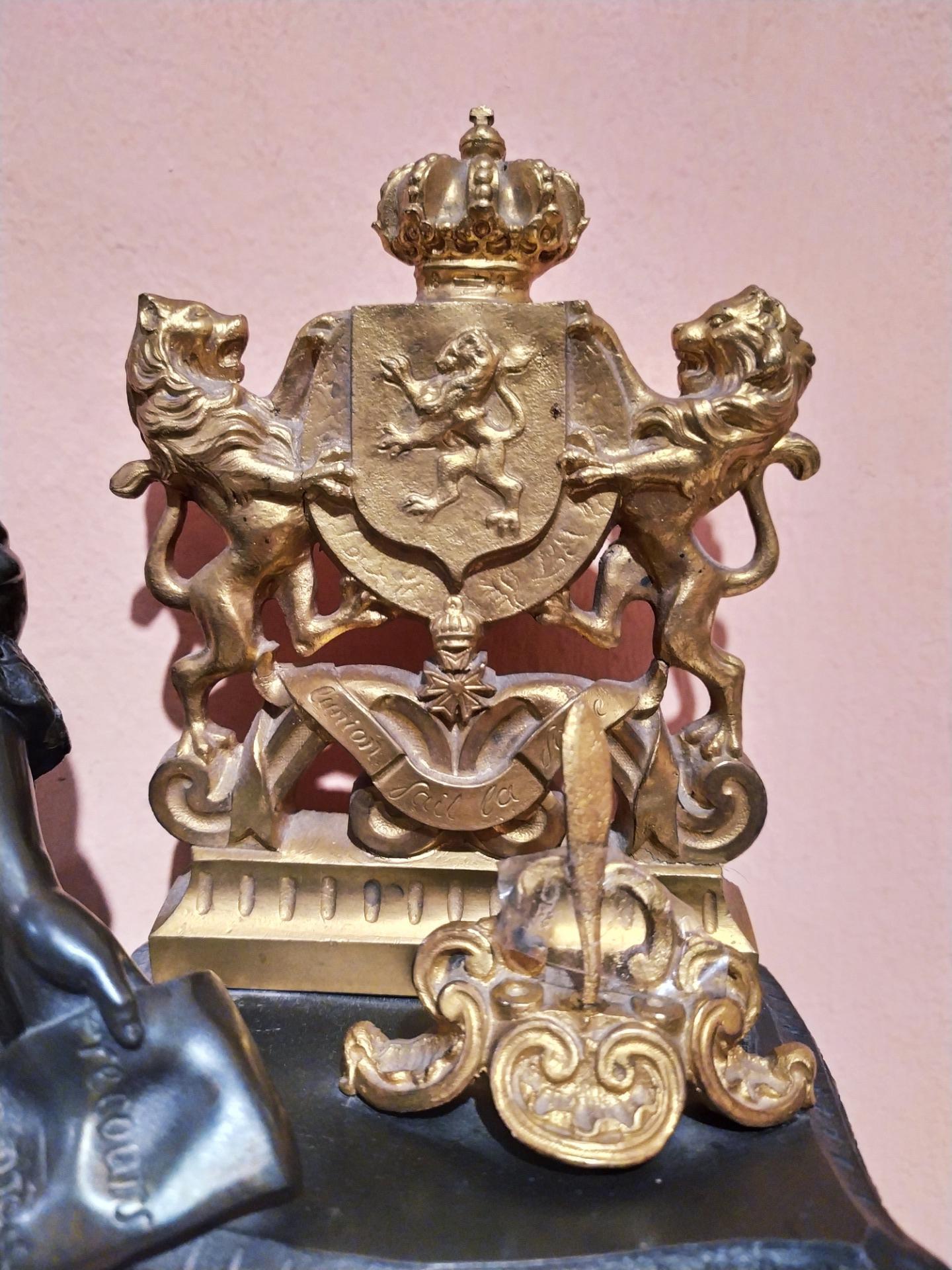 thumb8|Orologio in bronzo epoca Napoleone III