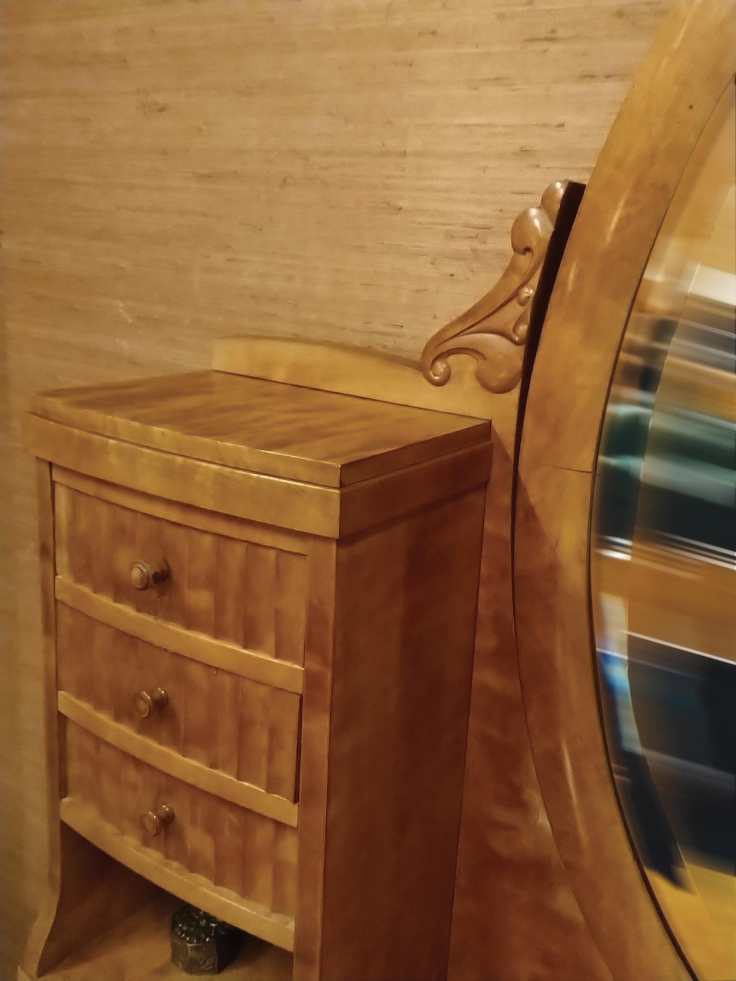 thumb3 Mobile toeletta in legno biondo