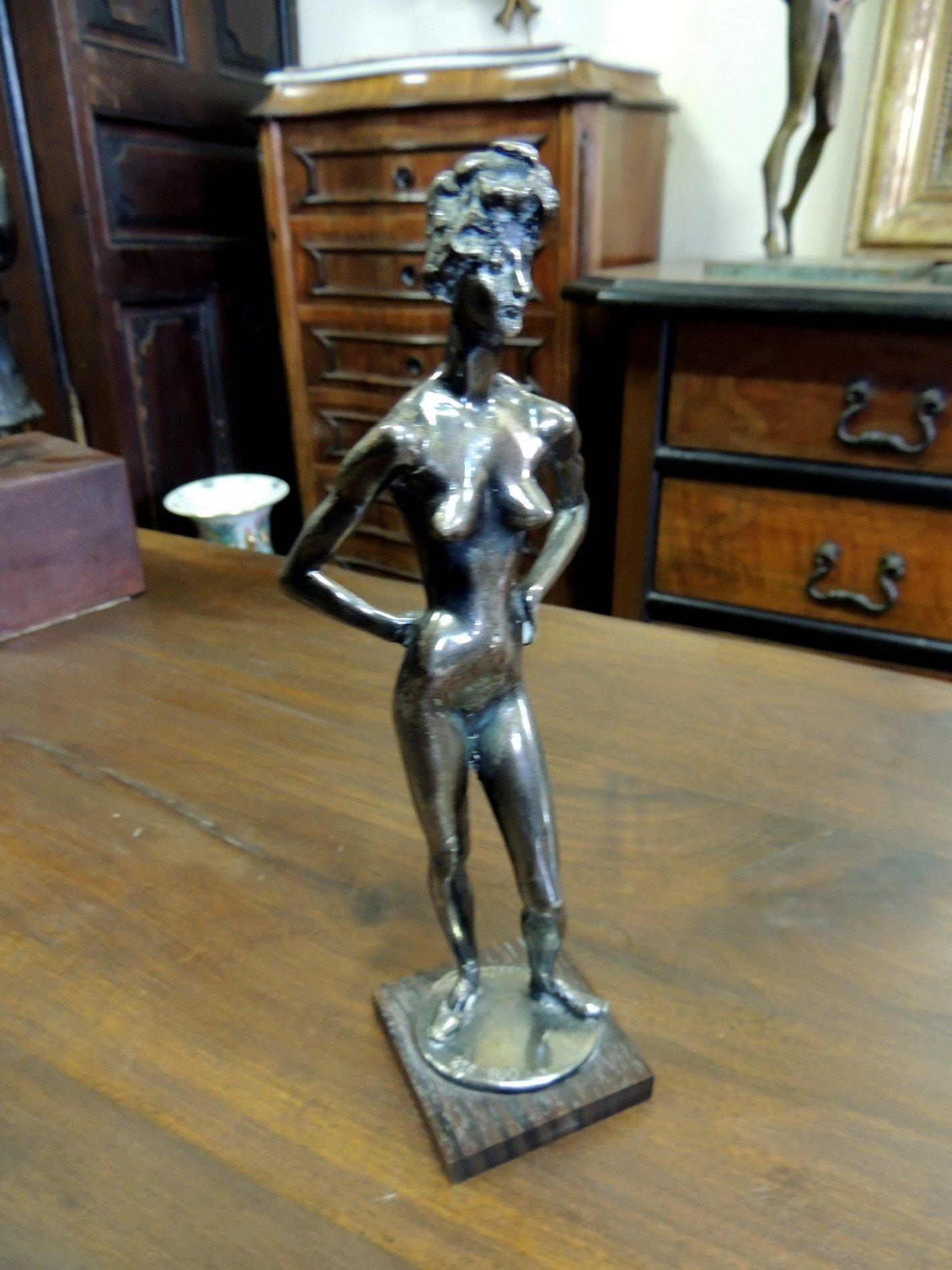 thumb6|statua in argento 800  di Messina  h cm 25
