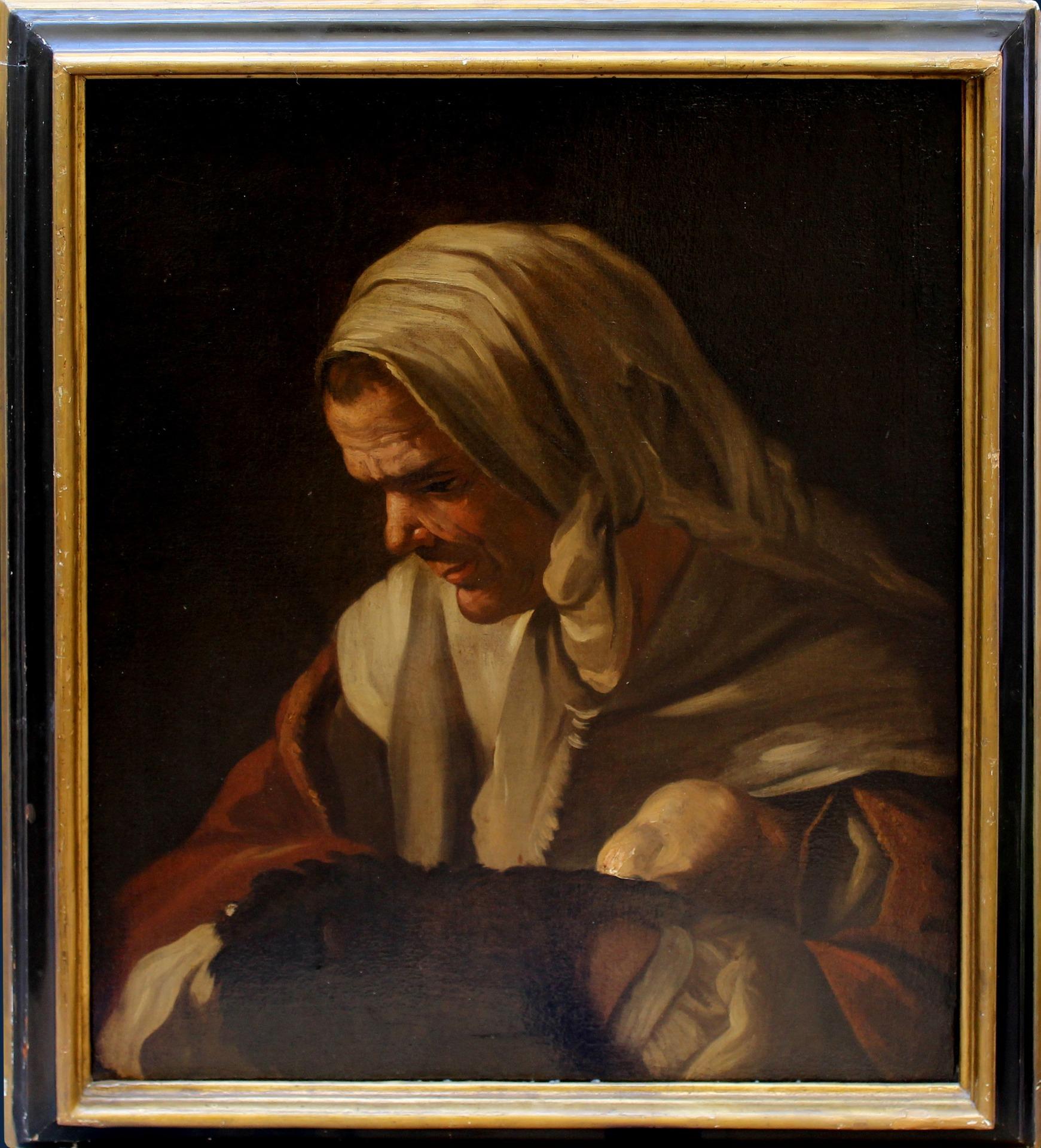 thumb2 Donna con scaldino, Antonio Cifrondi (1665 - 1730)